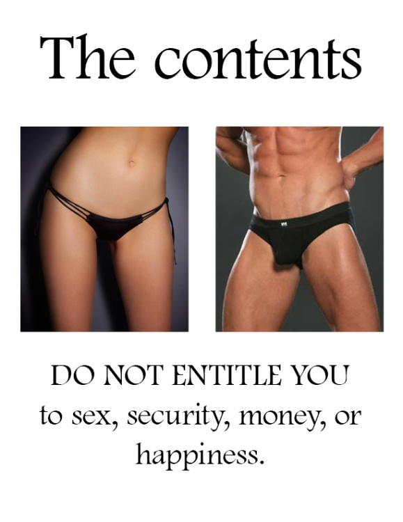 Poster: Contents do not entitle owner