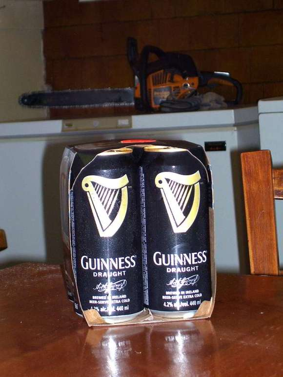 Buy Guinness Beer. Proof of purchase.