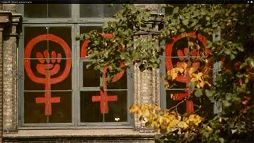Feminist symbol: Men and women's rights in Denmark