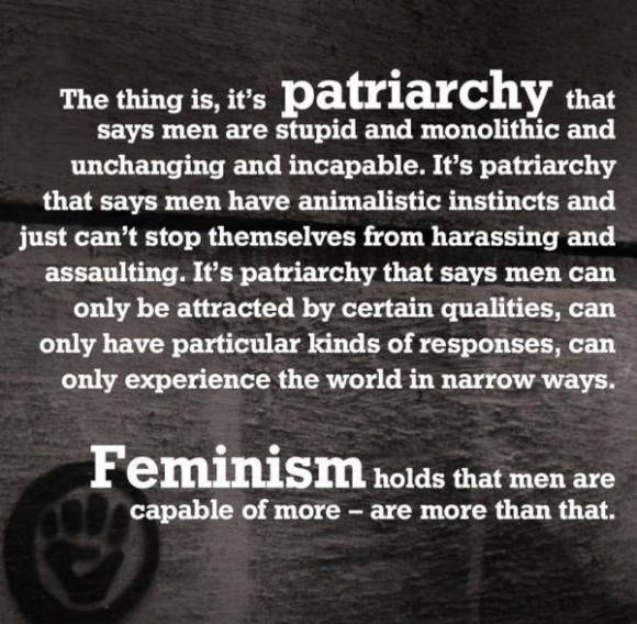 Patriarchy says...
