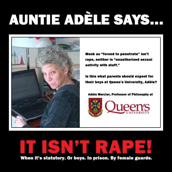 Auntie Adèle says...