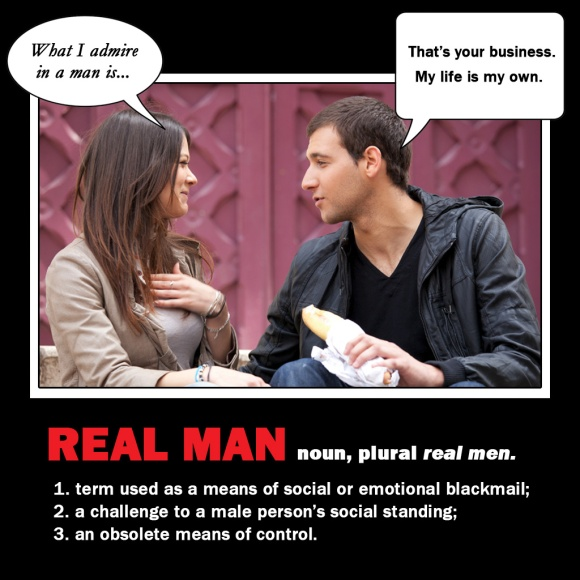 "Defition of ""real man"""