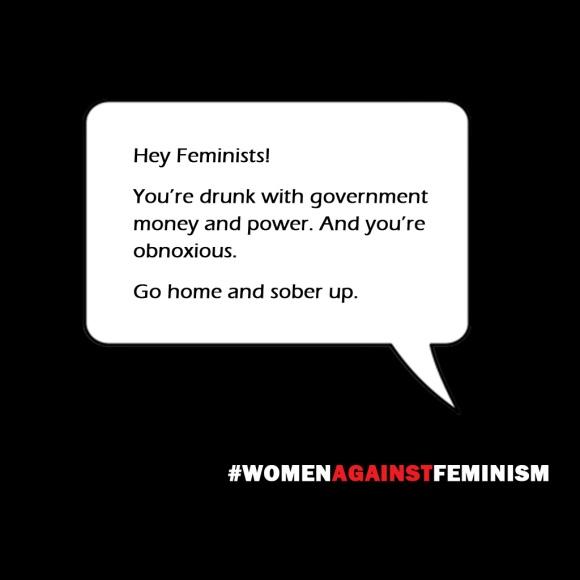 Women Against Feminism Meme