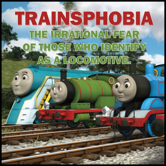 Trainsphobia: the irrational fear of those who identify as locomotives